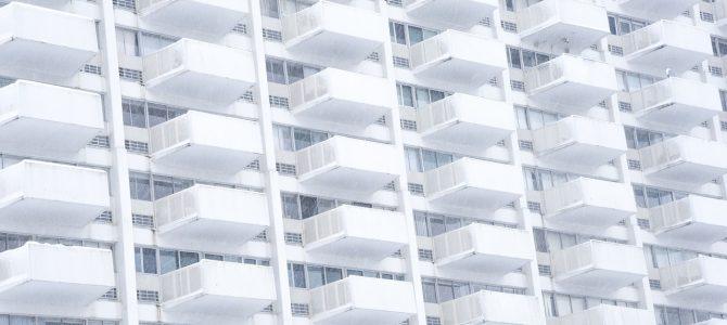 Los balcones son elementos comunes del edificio