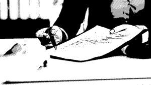 firma de contrato de alquiler